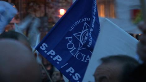 La grogne des policiers portugais