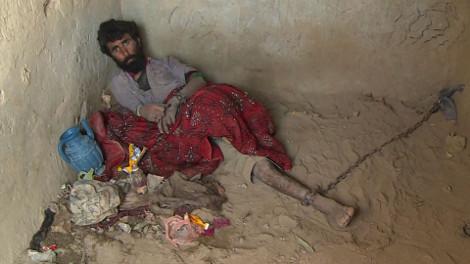 Les possédés afghans au pain et au poivre