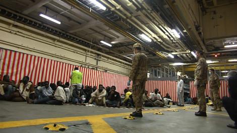 Lampedusa : propagande anti-européenne