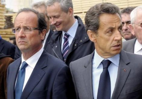 Hollande et Sarkozy