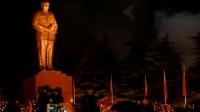 Des chinois fêtent les 120 ans de Mao