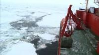 Des militants du réchauffement global pris dans les glaces