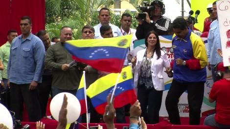 Maduro contre attaque