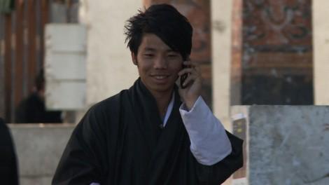 Bonheur par internet au Bhoutan