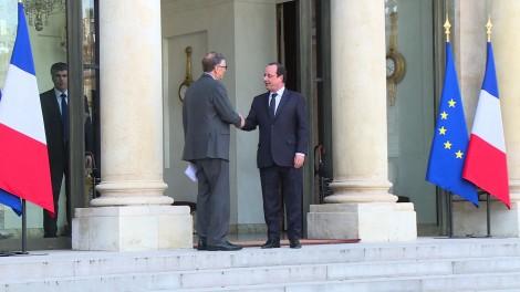 Gates et Hollande refont le monde