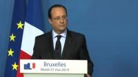 Papy Hollande fait de la morale antifasciste