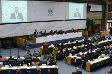 Esquisse d'un parlement vert pour l'ONU
