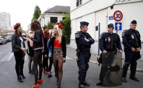 Femen expulsées
