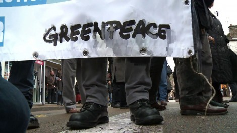 Greenpeace menace l'économie indienne