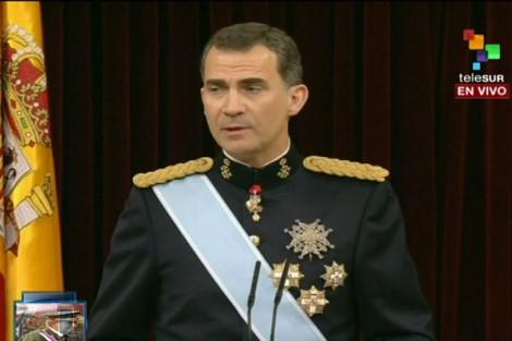 L'avènement de Philippe VI manifeste l'apostasie de l'Espagne