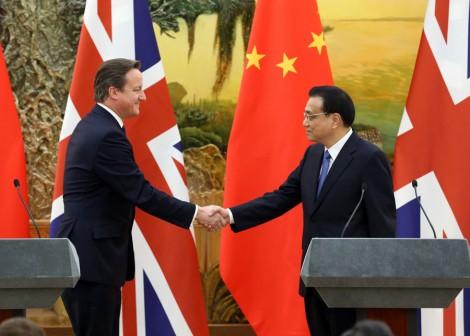 La Chine et la Grande-Bretagne font des affaires
