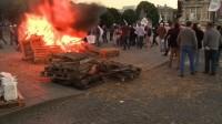 Manifestations antimondialistes du Brésil à la Concorde</br>RITV Vidéo