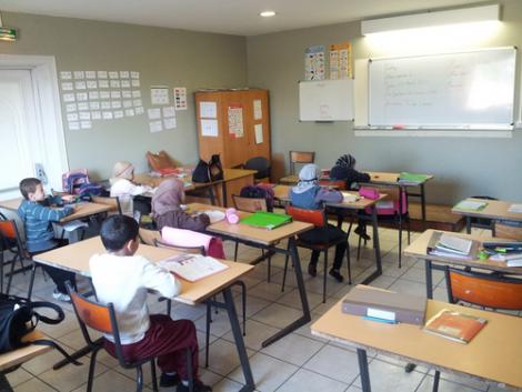Ecole coranique dans le Rhône
