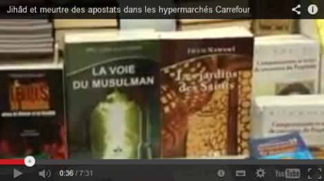 Carrefour propose de la propagande salafiste