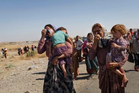 Communaute internationale Yezidis Petrole
