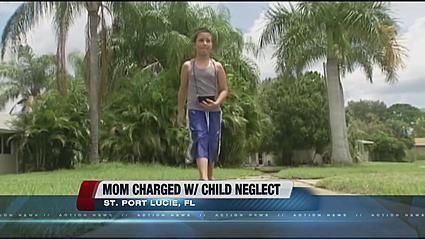 Floride arrêtée pour avoir laissé son enfant aller seul au parc