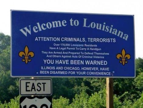 Louisiane armée