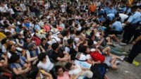 Tension entre Pékin et les manifestants de Hong Kong
