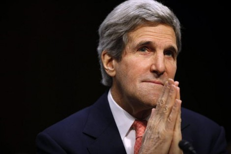 Kerry rechauffement global devoir Bible