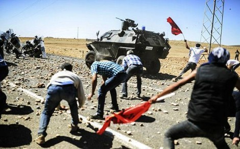 Turquie ferme frontiere Syrie