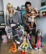 La photo: Des artistes représentent des figures religieuses avec des poupées… sauf Mahomet.