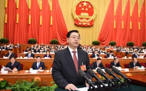 elections Hong Kong declaration Zhang Dejiang