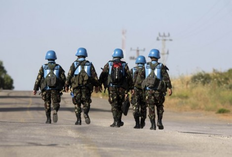Casques bleus Nations Unies plus pouvoir
