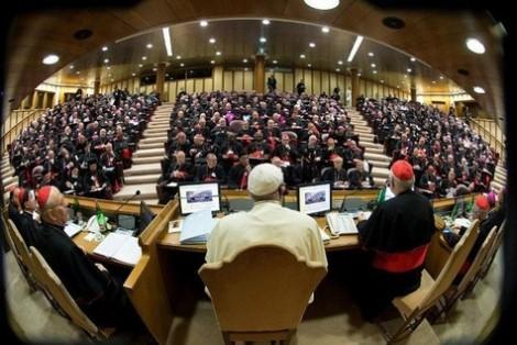 Rapport d etape Homosexuels Synode Eveques Medias