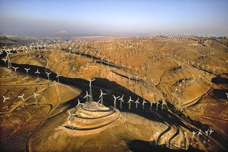 Révolte champ éoliennes Mexique