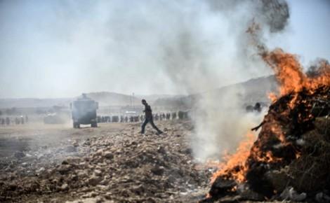 Syrie Kurdes contre djihadistes