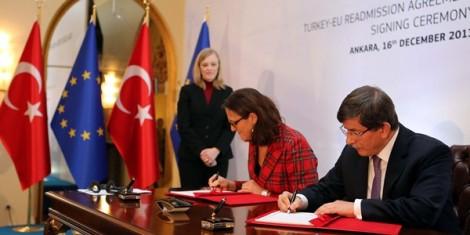 accord réadmission Turquie Union européenne