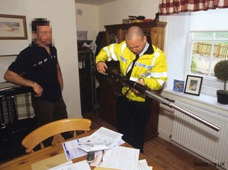 possession armes à feu Royaume-Uni