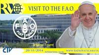 FAO: le pape met en garde contre l'«autodestruction» de la planète