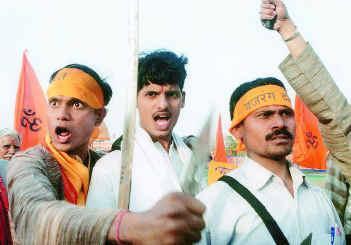 Inde hindouistes radicaux menacent minorites