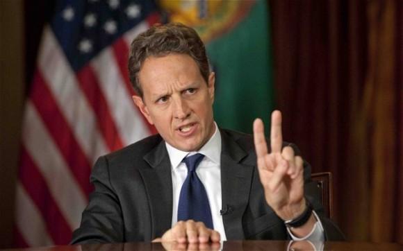 Tim Geithner accuse Sarkozy Merkel Draghi