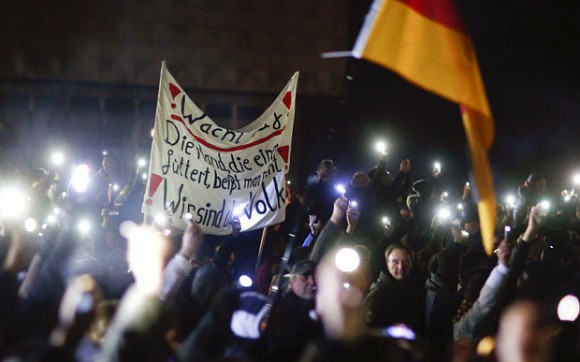 Allemagne manifestants anti-islamiques