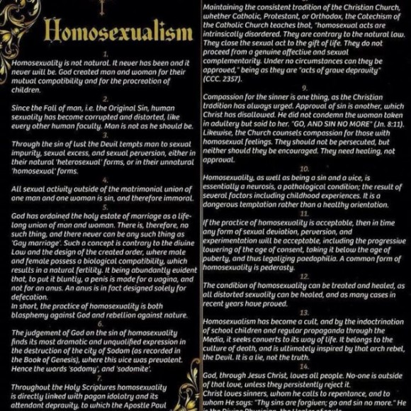 Ecosse Moine Arrete Prospectus Homosexualite
