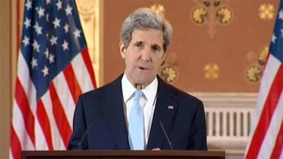 John Kerry Etat islamique