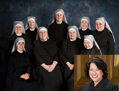 Obamacare Petites Sœurs des Pauvres contraception