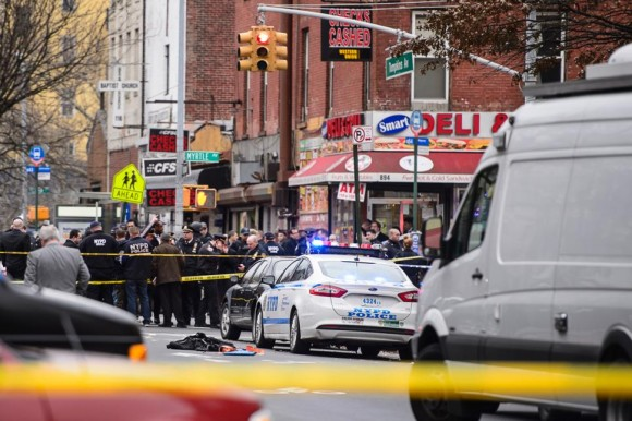 Policiers New York Assassines Silence