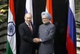 La phrase: «Nous (la Russie et l'Inde) sommes en train de mettre en place coopération plus profonde.»