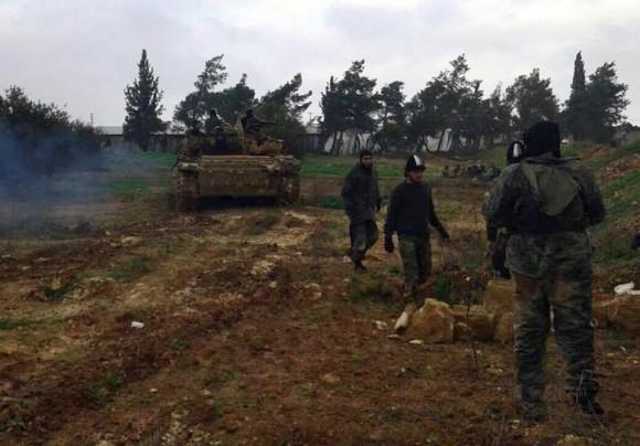 Syrie Al-Nosra bases militaires