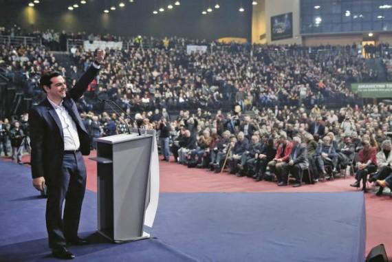« Changer la Grèce, changer l'Europe » : le slogan de Tsipras et de Syriza