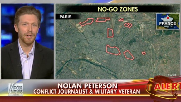 Fox News  zones de non-droit  Paris Europe apartheid