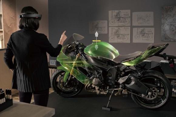 HoloLens Microsoft hologrammes realite virtuelle