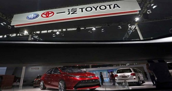 Ralentissement chez Toyota
