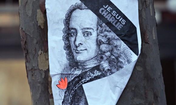 Voltaire est Charlie