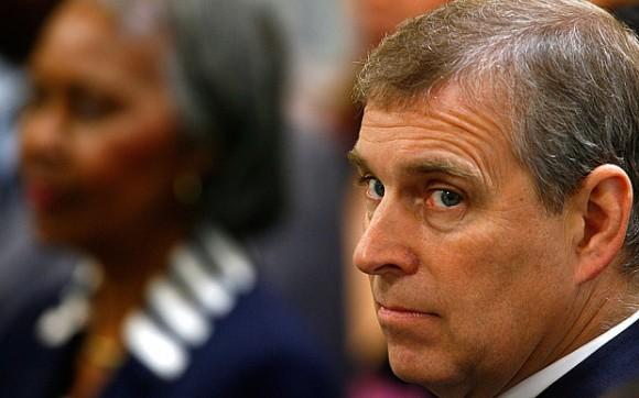 prince Andrew imbecile Epstein