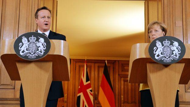 Le rapprochement Merkel-Cameron