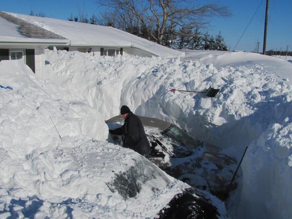 Est Canada recouvert neige 1